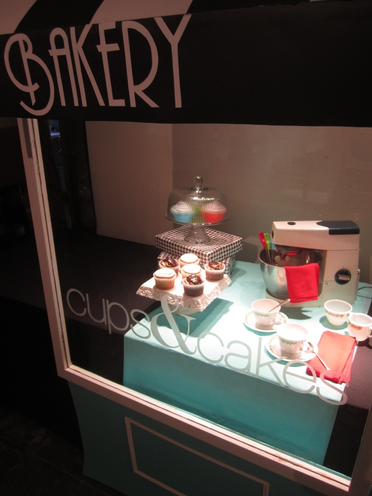 store front i made & designed for my glass II class