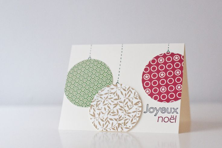 Cute and easy Christmas card