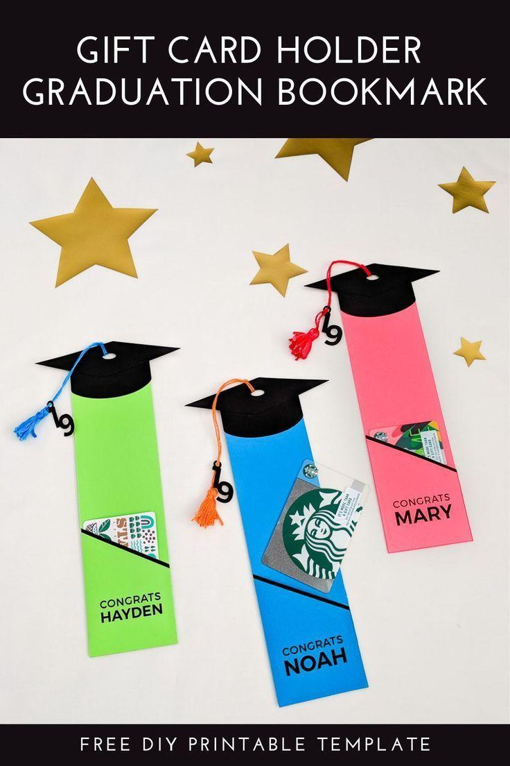 Graduation Gift Card Holder Free Printable Template Diy Graduation Gifts Graduation Cards Handmade Graduation Diy