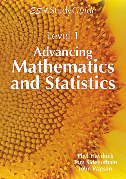 Covers the Level 1 Mathematics and Statistics Achievement Standards 1.1 to 1.3, 1.6, 1.10 and 1.12. It features brief, clearly explained theory, examples and activities for student practice. Answers are given in the back of the book. Use throughout the year to support classroom work, to help with internal assessments and to revise for end-of-year exams. See if it is available: http://www.library.cbhs.school.nz/oliver/libraryHome.do
