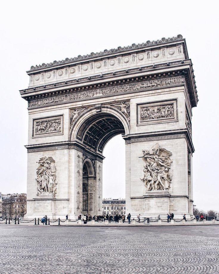 Arco di Trionfo, Parigi, Francia