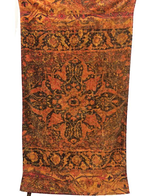 Fresco Towels Casbah Sunset Orange - Bath Towel By Artistico Towels #FrescoTowels