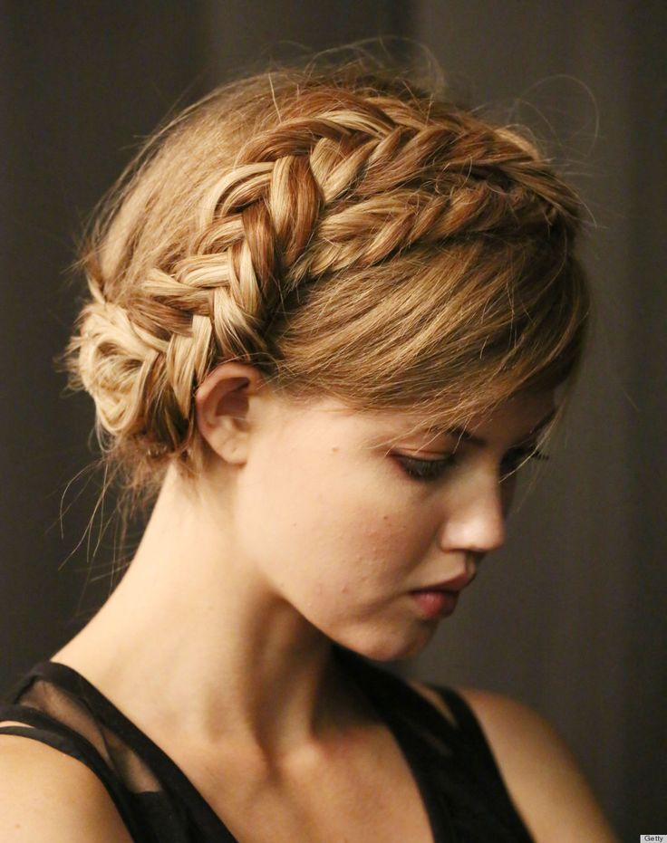 Best Anything But Boring Braids Images On Pinterest Braided - Diy hairstyle knotted milkmaid braid