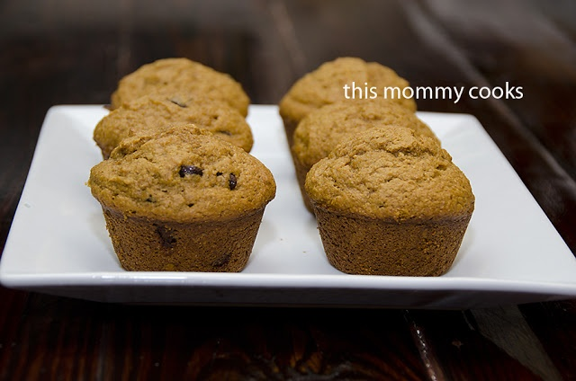 Whole Wheat Pumpkin {with or without Chocolate Chips} Muffins | Donuts ...
