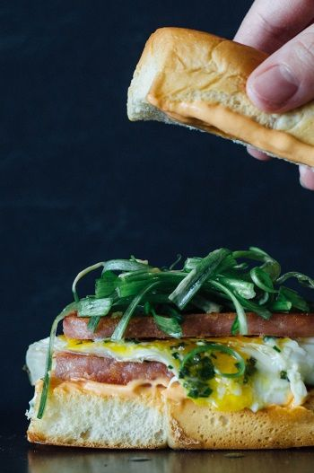 Breakfast sandwiches, Egg breakfast sandwiches and Breakfast on ...