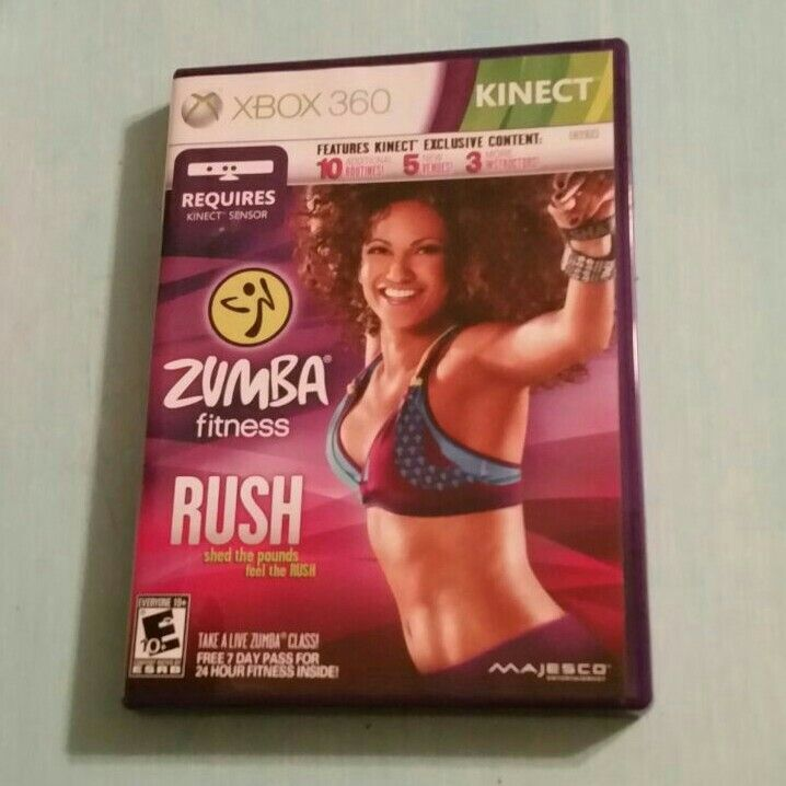 Like new Xbox 360 game. Requires a Kinect sensor. 1-2 players Rates E10+ for everyone 10 and up.