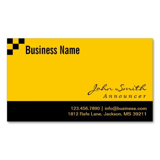 222 best radiotelevision announcer business cards images on checkered pattern announcer business card colourmoves