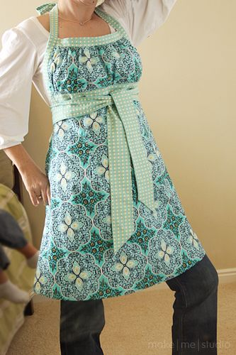 tablier taille empire / Cute apron