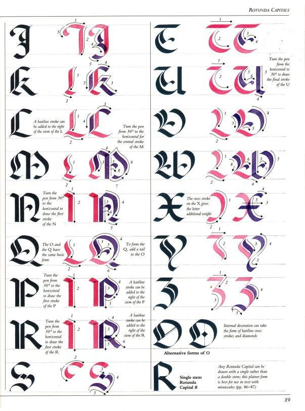 The Art of Calligraphy / Rotunda Capitals