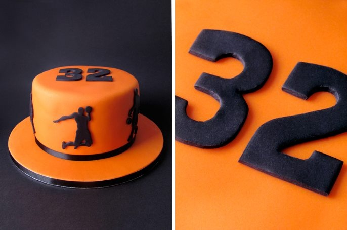 Basketball Cake - Miguel