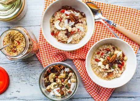 Vegan Quinoa Instant Porridge