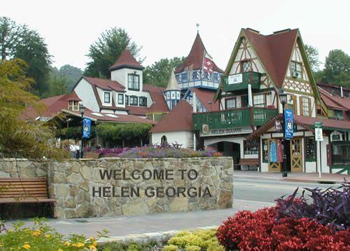Welcome to Helen, Georgia