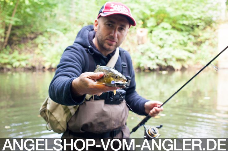 Forellenangeln - Trout fishing - Ловля форели