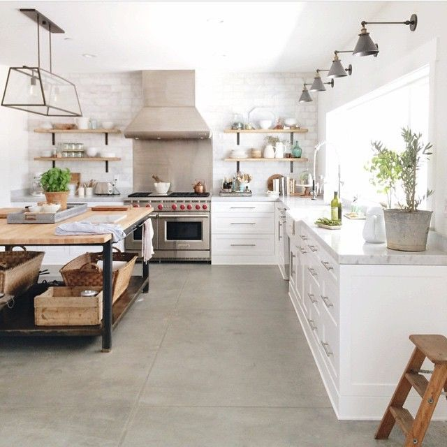 """""""When I dream of kitchens, it looks a whole lot like this. Thanks @heatherbullard for sharing your creativity with the world!"""" http://amzn.to/2keVOw4"""