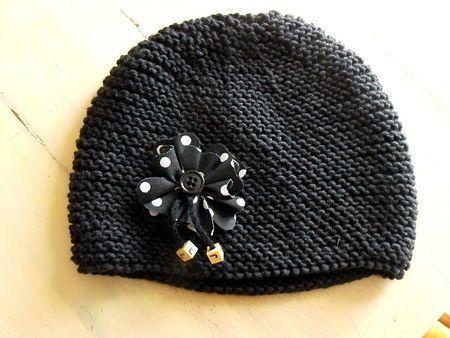 Tuto bonnet fillette ...(4 6, 8 10 ans)   tricot   Pinterest   Bonnet, Tuto  et Tricot 2efb09644e9