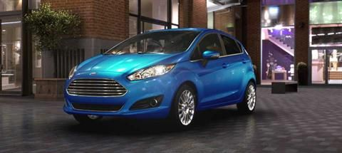 2014 Ford Fiesta Blue Candy