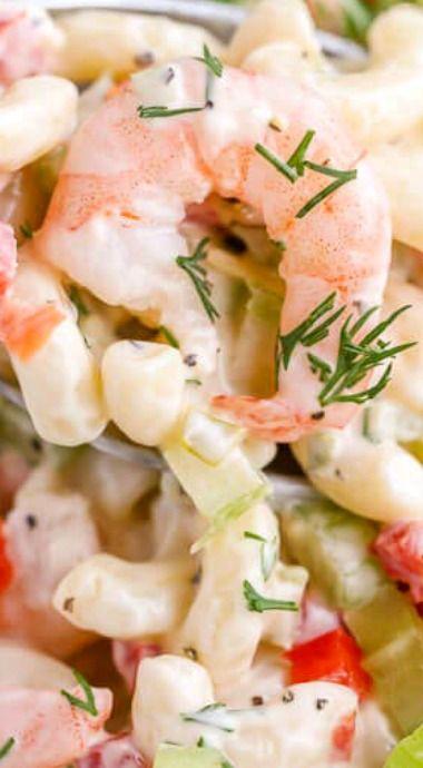 Shrimp Pasta Salad ^