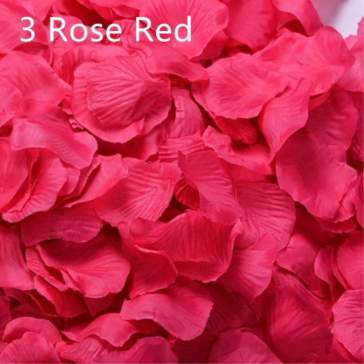 Petali Di Rosa 2000 pcs/lots Silk Wedding Decoration Rose Petals Artificial Flowers Petals Flowers 40 Colors AK6
