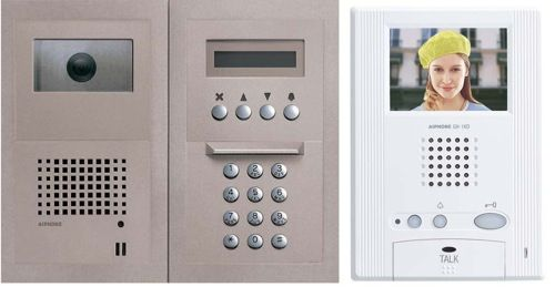 Aiphone Gh Series Multi Tenant Color Video Entry Security