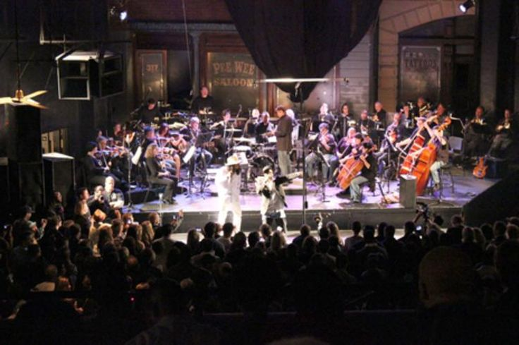 Collaborations are becoming more common with the Memphis Symphony Orchestra, shown here with Al Kapone at New Daisy Theatre.