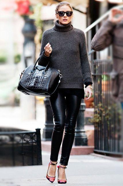 いまやアメリカのファションアイコンともいわれるオリビア・パレルモは、黒コーデの名人!彼女が着こなす可憐なBlack on Black(ブラックオンブラック)スタイルから、「魅せ方上手」を習得しましょう♡