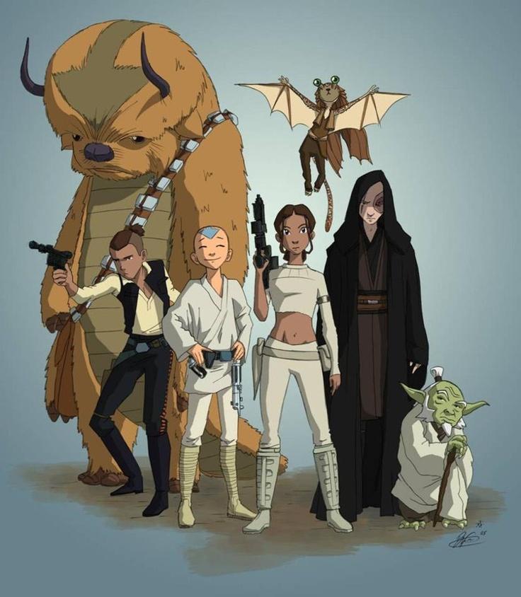 Avatar meets Star Wars...YEEEEESSSSSSS!