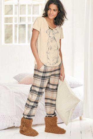 Buy Hare Print Pyjamas from the Next UK online shop