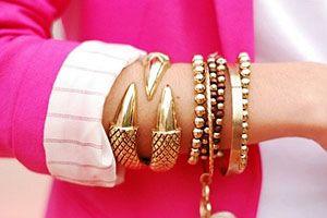 Выбираем массивные браслеты