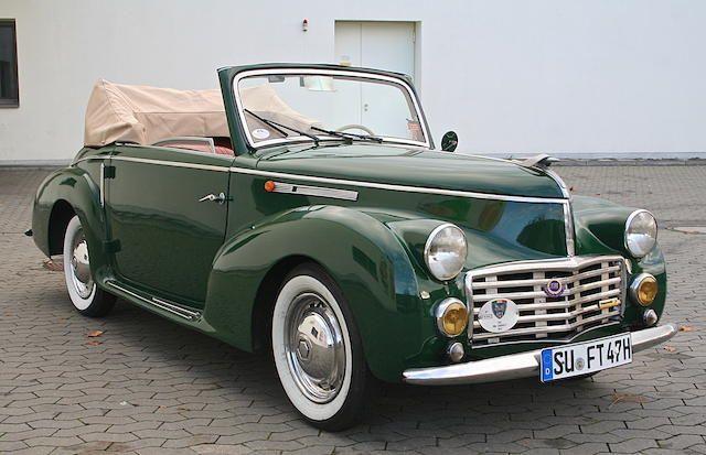 1947 Fiat 1100-A Cabriolet Boneschi