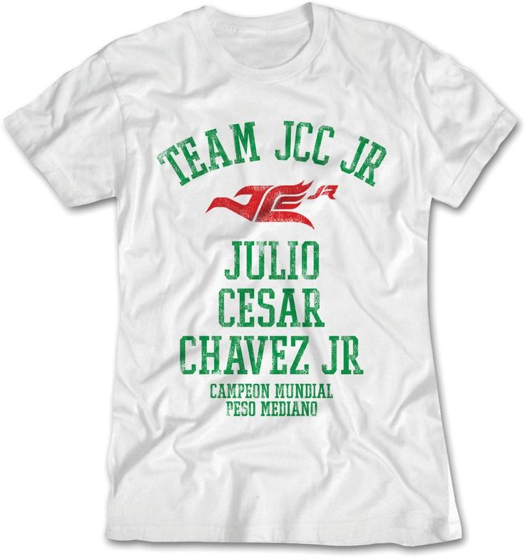 Julio Cesar Chavez Jr. - Official Online Store - Team JC Chavez Jr Women's T-Shirt, $27.00 (http://www.jcchavezjrstore.com/team-jc-chavez-jr-womens-t-shirt/)