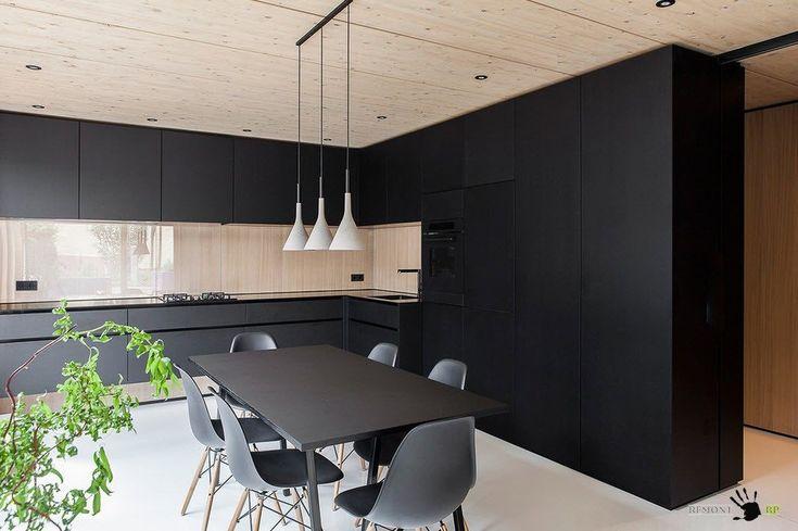 Загородный дом в стиле минимализм в Германии