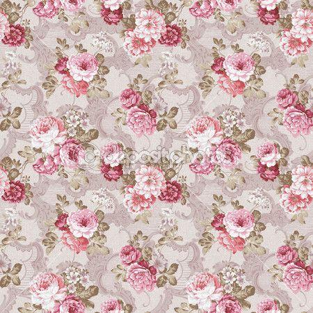 Бесшовный цветочный фон — стоковое изображение #4619188