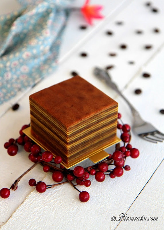 Lapis Legit: Indonesian Mocha Layer Cake