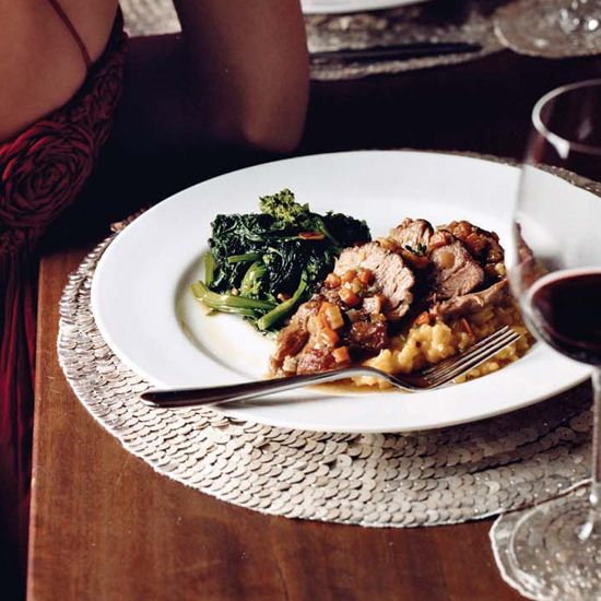 """Slow-Braised Osso Buco 