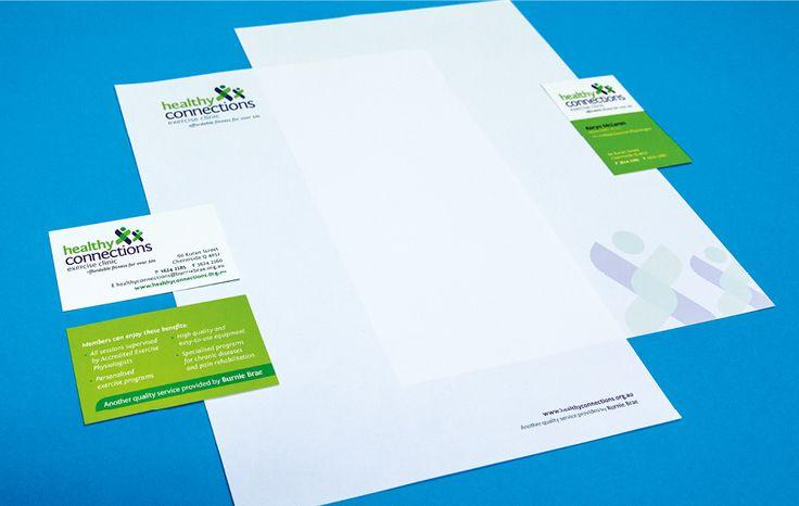 Salt Portfolio // Burnie Brae - Healthy Connections Stationery