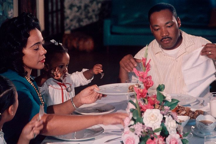 Image result for dr king coretta in color