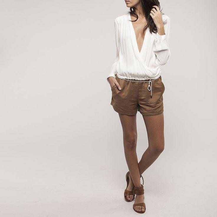 combi short femme ikks bf33175 v tement femme et 15 style pinterest shorts et ps. Black Bedroom Furniture Sets. Home Design Ideas
