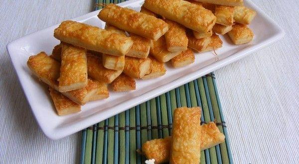Gyors, ropogós sajtos rúd | Receptkirály.hu