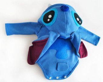 Baby Shower Sitch Lilo and Stitch Onesie Costume by KeiyoMayo