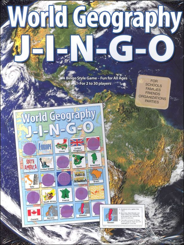 World Geography J I N G O