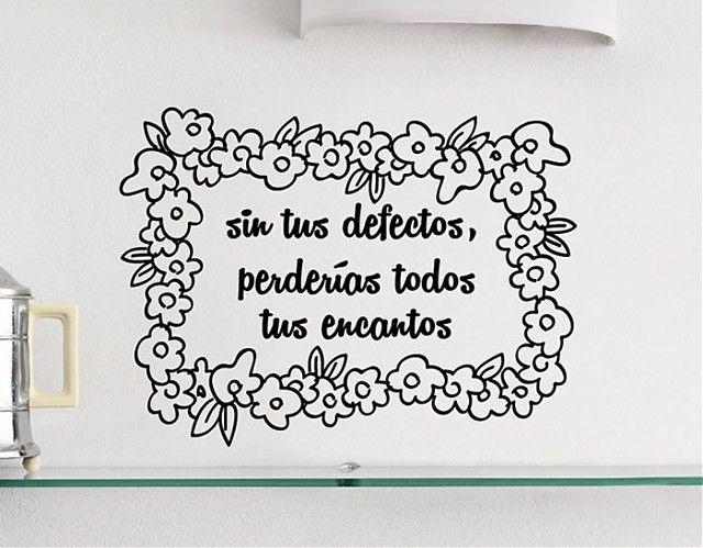 133 best vinilos decorativos frases citas refranes for Vinilos decorativos textos