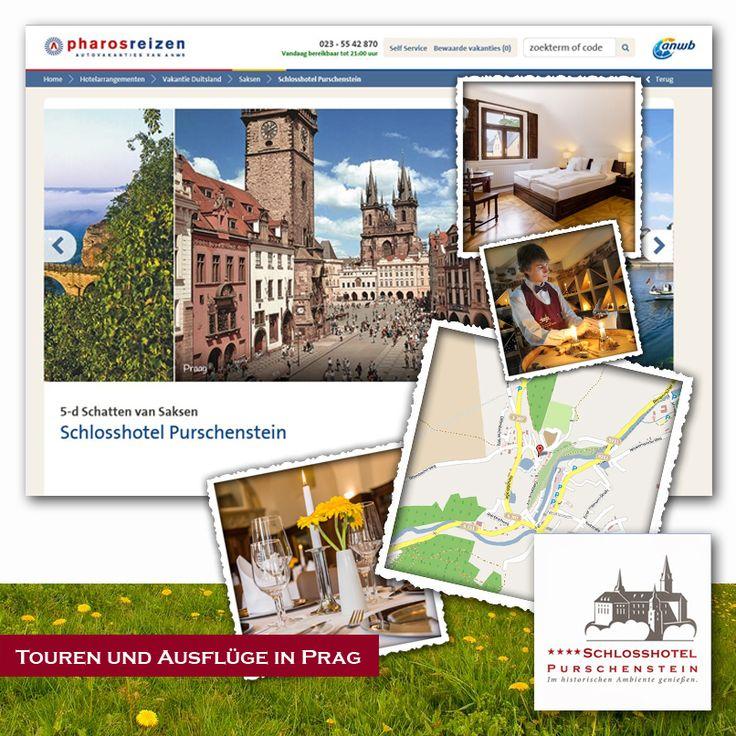*Touren und Ausflüge in Prag!*  https://www.groupon.de/deals/ga-schlosshotel-purscheinstein-1 Erzgebirge: 2-4 Tage für 2 Pers. inkl. Frühstück und Wellness und opt. Dinner im 4* Schlosshotel Purschenstein.     Schlosshotel Purschenstein ist auch ein idealer Ausgangspunkt für Tagesausflüge in einige der schönsten Städte Europas: Chemnitz, Dresden, Leipzig oder Prag (CZ). http://www.purschenstein.de/de-de/kultur/ausflugsziele-im-umland.htm  Touren und Ausflüge in Prag