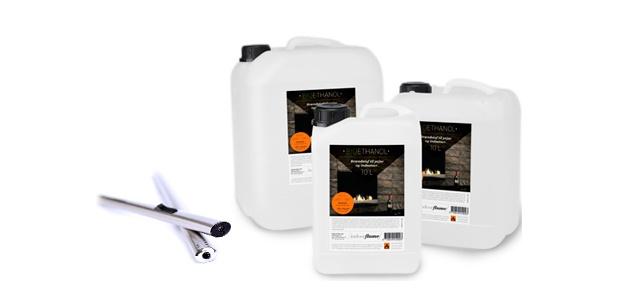 Bio Fuel @ IndoorFlame.dk