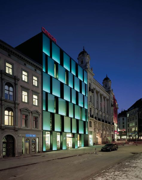 Kuba & Pilar architekti s.r.o.: Department store Omega, Svobody sq., Brno (8×):