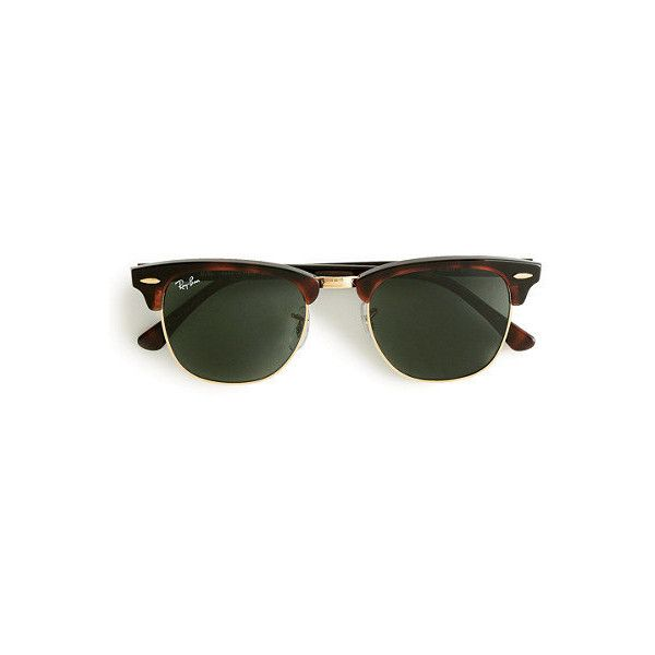ray ban sunglasses sale offers  ray ban clubmaster sunglasses ? liked on polyvore featuring accessories, eyewear, sunglasses,