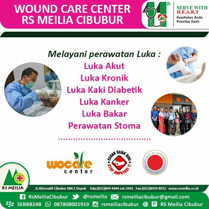 Problem luka dapat ditangani di Klinik Woundcare RS Meilia • • #rsmeilia #depok #cileungsi #cibubur #rumahsakit #dokter #perawat #jakarta #indonesia