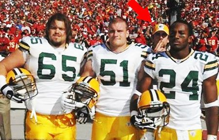 Aaron Rodgers Photobomb Collection