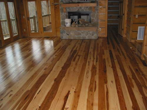 hickory wood  Ideas for the House  Hickory flooring Hardwood floors Flooring