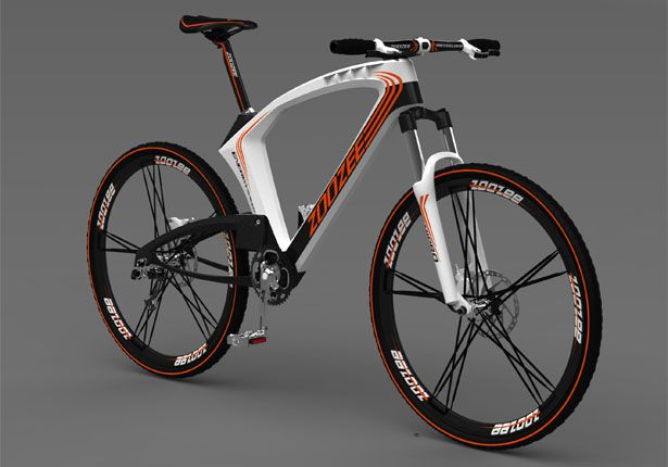 ZooZee Pro MTB is an innovation full-suspension mountain bike that won the award for 2011 International Bicycle Design Competition.