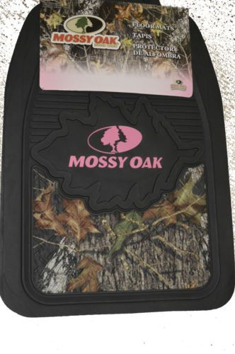 Awesome camo floor mats with pink mossy oak pink camo floor mat set 2